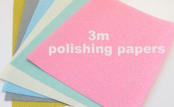 3M Polishing Papers for Art