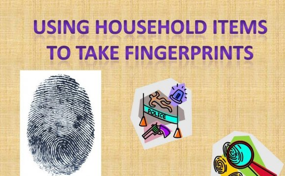 Using household items to take