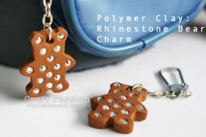 easy polymer clay bear