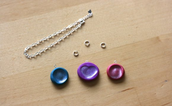 Thumbprint Necklace craft