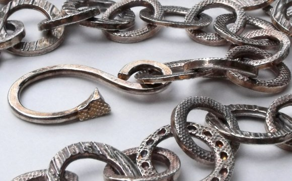 Chains. Metal Clay