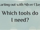 Silver Clay tools