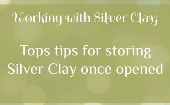 Working with Silver Clay